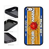 BleuReign(TM) Personalized Dub Nation Custom Name Basketball Team Golden State License Plate TPU RUBBER SILICONE Phone Case Back Cover For Apple iPhone 5 5s and iPhone SE