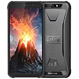 Rugged Cell Phone Unlocked, Blackview BV5500 GSM IP68 Waterproof Smartphone, Android 8.1 3G Dual SIM 5.5' Quad Core 2GB+16GB,4400mAh Battery [MIL-STD 810G] [Facial Recognition] Mobile Phones,Black