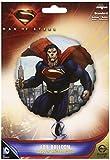 Anagram 18 Inch Circle Foil Balloon - Superman Man Of Steel