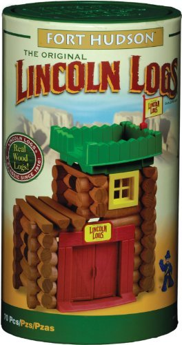 Fort Hudson Lincoln Logs by Lincoln Logs