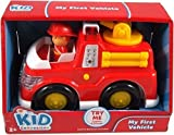 Kid Connection My First Vehicle Fire Truck - great firetruck for pre-schoolers with lights & sounds