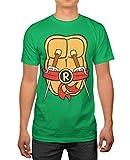 TMNT Teenage Mutant Ninja Turtles Mens Raphael Costume T-Shirt M