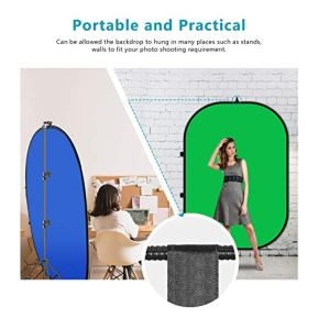 Neewer-5x7-Chromakey-Blue-Green-Collapsible-Backdrop-with-Support-Stand-Kit-2-in-1-Reversible-Background-Pop-Up-Green-Screen-Blue-Green-Panel-for-Photo-Studio-Video-Shooting-Live-Streaming-etc
