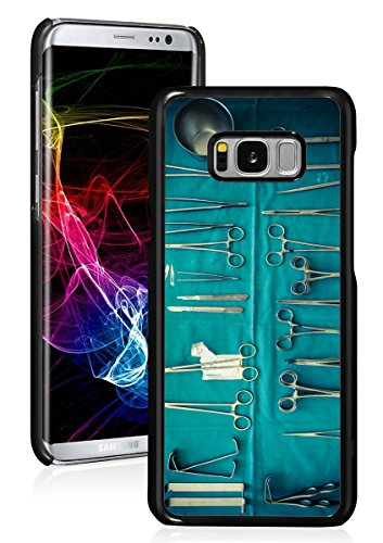 For Samsung Galaxy Exhausting Again Case Cowl Surgical procedure Surgical Devices Physician Nurse (Black For Samsung Galaxy S8+ (Plus)) 51NvL68zKgL