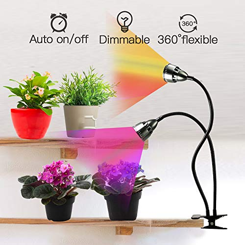 15 Best Grow Lights for Indoor Plants (LED & Clip On Kits)