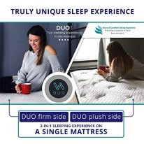 DUO-Double-Sided-Queen-Mattress-Two-Sleeping-Experiences-In-One-Mattress-Flippable-With-A-Firm-Side-And-Plush-Side-Features-OUTLAST-Temperature-Regulating-Fabric-On-Both-Sides