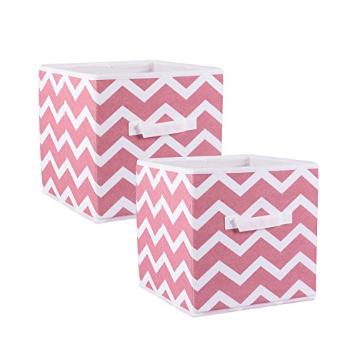 Foldable Fabric Storage Containers for Nurseries, Offices, Closets