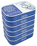 Smoked Trout Fillets in Oil, Skinless, (Pack of 6), 3.9 oz Tin - Trader Joe's