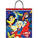 "Amscan DC Birthday Superhero Girls Party Favour Treat Bag, Multicolor, 16"" x 14"""