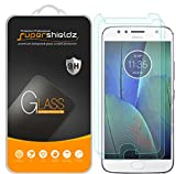 [2-Pack] Supershieldz for Motorola (Moto G5S Plus) Tempered Glass Screen Protector, Anti-Scratch, Anti-Fingerprint, Bubble Free, Lifetime Replacement
