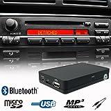 Bluetooth Handsfree A2DP USB SD AUX Music Player CD Changer Adapter Interface Car Kit for BMW E36 E38 E39 E46 Z3 Business CD/Cassette Radio