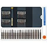 27 in 1 Precision Screwdriver Set with Torx Phillips Pentalobe Triwing Screwdriver Bit Set,Small Portable Opening Repair Tool Kit for iPhone,Macbook,iPad,Laptop,Watch & Glasses