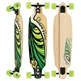 Sector 9 Session Sand Shark 39 Inch Maple Top Mount Longboard for Cruising, Commuting, and Skateparks, Blue