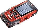 Hilti 2062051 PD-E Laser (1 mW, 635 nm, Class 2, Class II )Range Meter with Soft Case