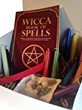 Pagan Wicca Witchcraft Charm Supplies Starter Gift Box Kit for Beginners