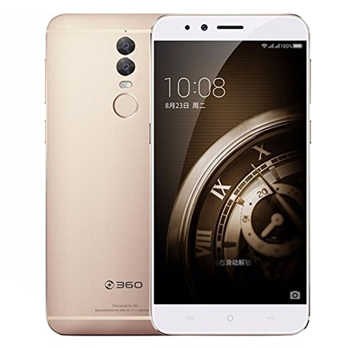 Generic 360 Q5 / 1515-A01 128GB, Network: 4G, Dual Back Cameras, Fingerprint Identification, 5.5 inch Android 6.0 Qualcomm Snapdragon 625 Octa Core 1.8GHz, RAM: 4GB, Support OTG, Dual SIM(Gold)