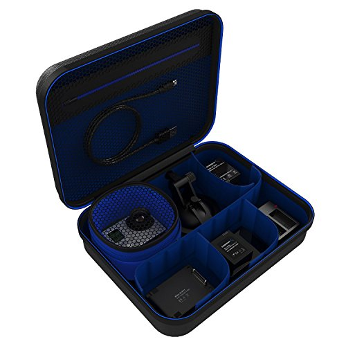 Sabrent Universal Travel Case for Gore or Small Electronics and Accessories, Black (GP-CSBG)