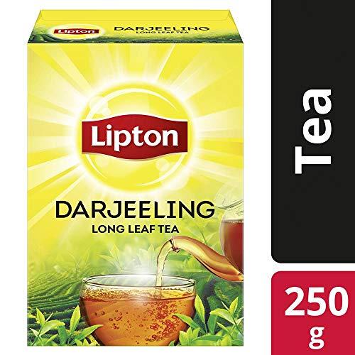 51OPWWpmPcL - Lipton Darjeeling Long Leaf Tea, 100 Percent Pure and Authentic Darjeeling Tea, 250 g