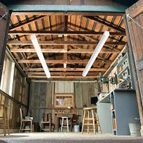 Lightdot-8FT-100W-LED-Wraparound-Shop-Light-15000-Lumen-5000K-Daylight-Flush-Mount-Office-Ceiling-Lighting-8-Foot-LED-Linear-Fixtures-for-Garage-Workshop-Warehouse-2-Pack