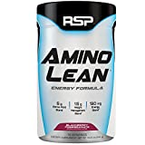 RSP AminoLean - All-in-One Pre Workout, Amino Energy, Weight Management Supplement with Amino Acids, Complete Preworkout Energy & Natural Weight Management for Men & Women, Blackberry Pom, 70 Serv