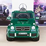 BIG TOYS DIRECT Mercedes Benz G63 12V Kids Ride On Truck SUV with Remote Control - Green