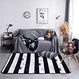 Kievil Nordic Thicken Carpets Parlor Bedroom Decor Carpet Coffee Table Floating Window Pad Household Non-Slip Floor Mat