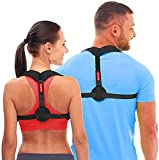 Andego Back Posture Corrector for Women & Men - Effective and Comfortable Posture Brace for Slouching & Hunching - Discreet Design - Clavicle Support (Universal) ...