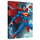 Super Storm -- Superman -- Stretched Canvas Framed Artwrap, 16x24