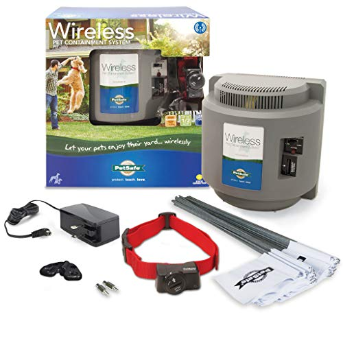 PetSafe Wireless Dog and Cat Containment System - Above Ground Electric Pet...