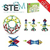 Klikko model building set - 132 pieces - Ages 5 + Engineering Education Toy, Best gifts for boys and girls with activities to learn STEM concept and imagination