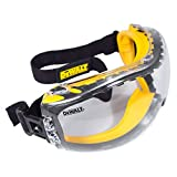 *DEWALT ToughCoat hard coated lens , *DEWALT XtraClear anti-fog lens coating , *Soft, dual injected rubber conforms to the face, *Adjustable, elastic cloth head strap provides a comfortable fit, *Ventilation channels allow breathability , *The DEWALT...