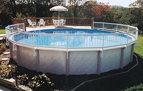 GLI Above Ground Pool Fence Base Kit (8...