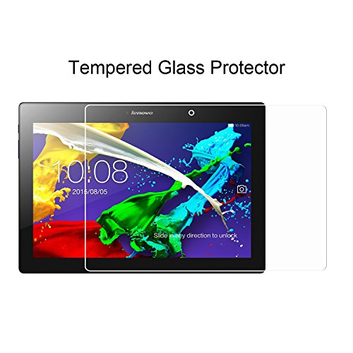 ACdream Lenovo Tab 2 A10 & Lenovo Tab3 10 Business Screen Protector, Premium HD Tempered Glass Screen Protector for Lenovo Tab 2 A10-70 & Lenovo Tab3 10 Business, Ultra Clear