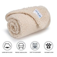 Furrybaby-Premium-Fluffy-Fleece-Dog-Blanket-Soft-and-Warm-Pet-Throw-for-Dogs-Cats-Small-24x32-Beige