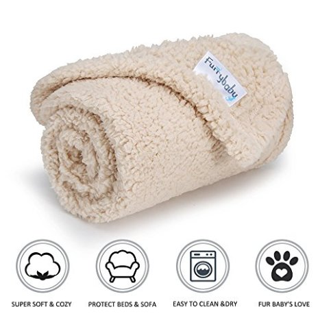 furrybaby-Premium-Fluffy-Fleece-Dog-Blanket-Dog-Bed-Soft-and-Warm-Pet-Supplies-for-Dogs-Cats
