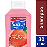 Suave Essentials Shampoo, Strawberry, 30 Fl Oz