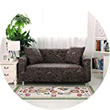 Sofa Loveseat Cover Slipcover High Elastic Tight Wrap Anti-Slip,Model 3,1 Seat (90-140Cm)