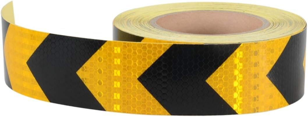 Amazon Com 2 X 150Ft Reflective Hazard Warning Tape Waterproof | Reflective Tape For Outdoor Steps | Hazard Warning Tape | Yellow | Self Adhesive | Retro Reflective | Concrete Steps