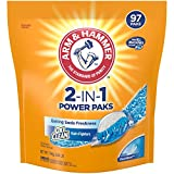 Arm & Hammer 2-IN-1 Laundry Detergent Power Paks, 97 Count Pods