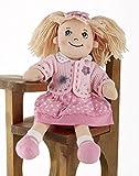 Delton Products Dot Apple Dumplin Doll, 14', Pink