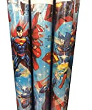 SUPERMAN ~ Christmas Wrapping Paper 40 Sq. Ft.