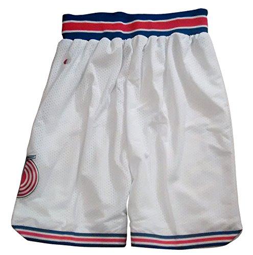 Space Jam Tune Squad Basketball Shorts - White (Medium)