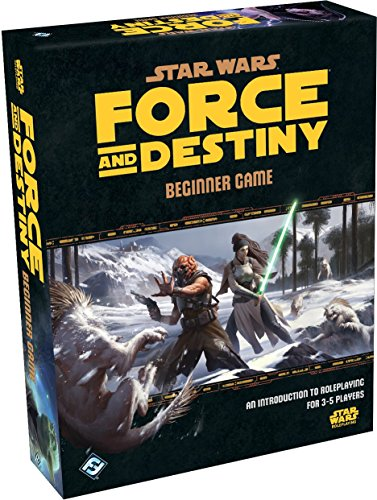 Fantasy Flight Games Star Wars: Force and Destiny RPG - Beginner Game