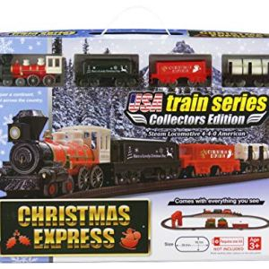LEC USA Us Train Christmas Express Set 51Ozoiae 2BFL
