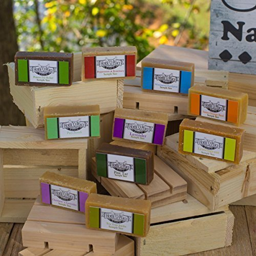 Herbal Handmade Goat Milk Soap Sample Pack (Scented) Horse O Peace Ranch