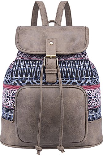 Lily Queen Fashion Small Purse Backpack Lightweight for Women and Teen Girls Colorful (Multicoloured)