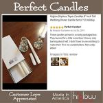 Orange-Halloween-Dripless-Taper-Candles-8-Inch-Tall-Wedding-Holiday-Decorations-Candle-Set-of-12-Pumpkin