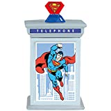 Westland Giftware Ceramic Cookie Jar, 9.75-Inch, DC Comics Superman Phone Booth