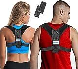Posture Corrector for Women & Men + Underarm Pads, Adjustable Clavicle Brace Perfect for Shoulder Support, Upper Back Correction, Medical Kyphosis Trainer Under Clothes INSPIRATEK