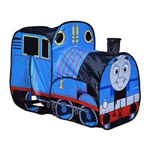 Sunny Days Entertainment Thomas & Friends Pop-Up Play Train Tent for Kids Indoor and Outdoor, Nickelodeon Thomas The Tank Engine 51PKI9QOOvL